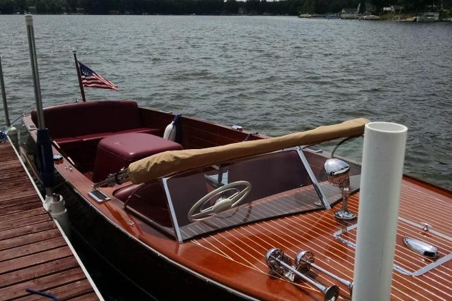 1953 Chris Craft Sportsman - For Sale at Lake, MI 48632 - ID 148063