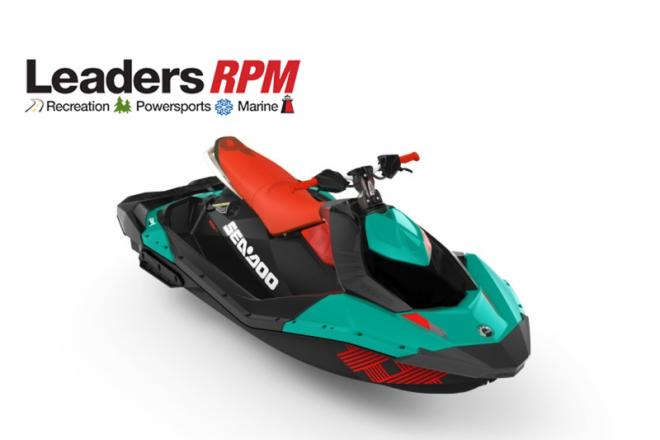 2018 Sea Doo SPARK® TRIXX™ 3-up Rotax 900 HO ACE Candy Blue - For Sale at Kalamazoo, MI 49019 - ID 131833