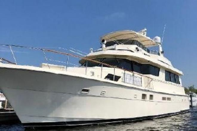 1990 Hatteras 70 cockpit motor yacht - For Sale at Spring Lake, MI 49456 - ID 148504