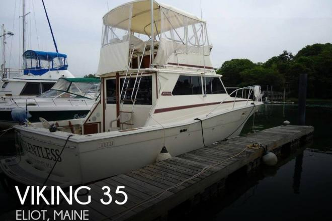1983 Viking 35 Convertible - For Sale at Derry, NH 3038 - ID 148518