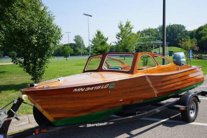 1948 Custom Built Classic Wooden Runabout - For Sale at Minneapolis, MN 55401 - ID 148591