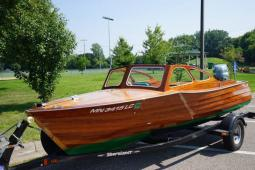 1948 Custom Built Classic Wooden Runabout