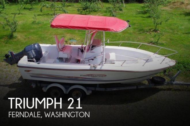 2002 Triumph 210 CC - For Sale at Camano Island, WA 98282 - ID 148618