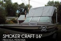 2012 Smoker Craft 162 Pro Angler XL