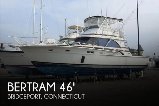 1977 Bertram 46.6 Convertible - For Sale at Bridgeport, CT 6605 - ID 148472