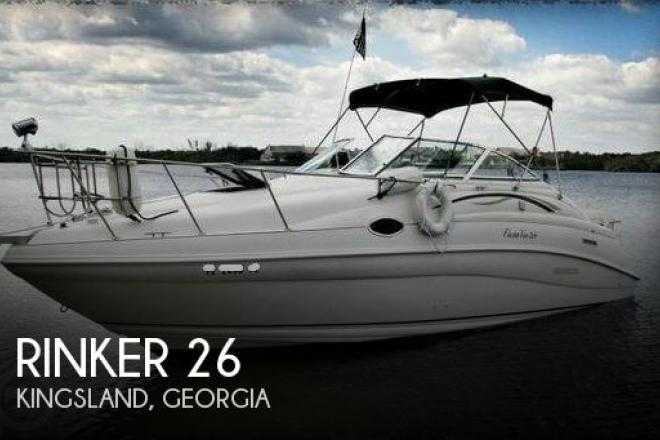 1998 Rinker Fiesta V 266 - For Sale at Kingsland, GA 31548 - ID 149097