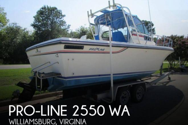 1988 Pro Line 2550 WA - For Sale at Williamsburg, VA 23185 - ID 148096