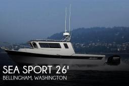 2018 Sea Sport Kodiak 2600