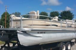 2000 Premier 24' Pontoon Boat