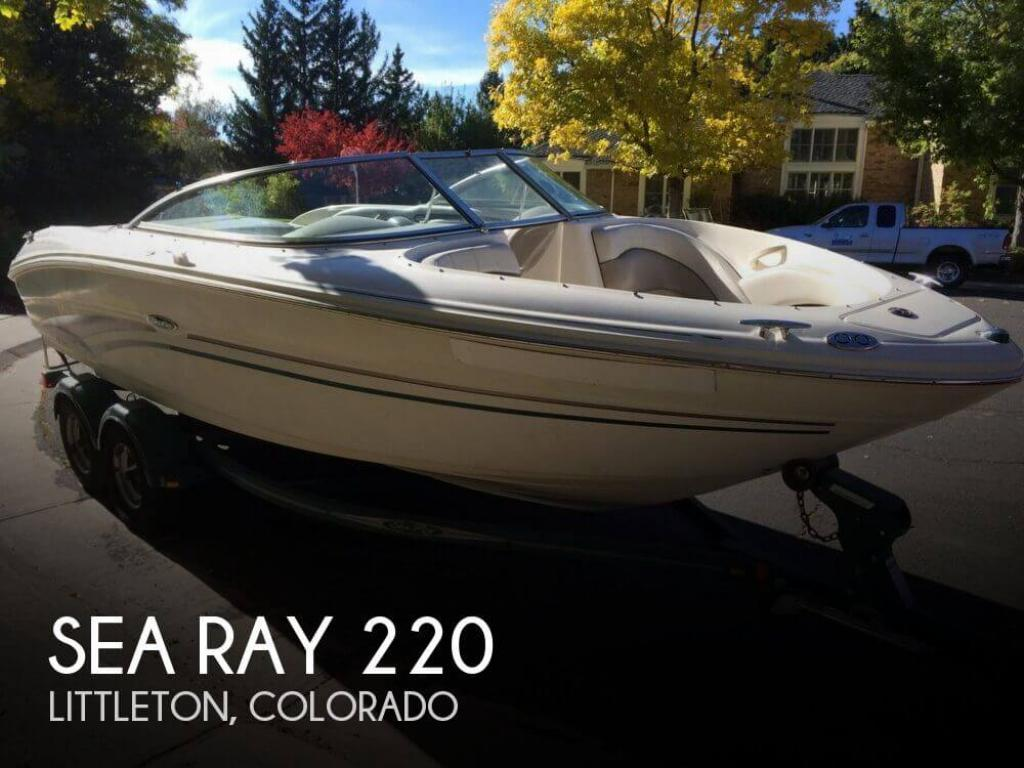 For Sale: 2002 Sea Ray 220 - $15,000 at Centennial, CO