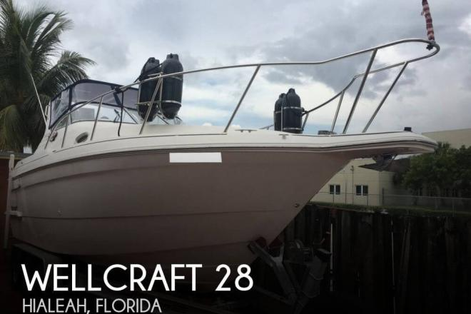1999 Wellcraft 2800 Martinique - For Sale at Hialeah, FL 33018 - ID 149970
