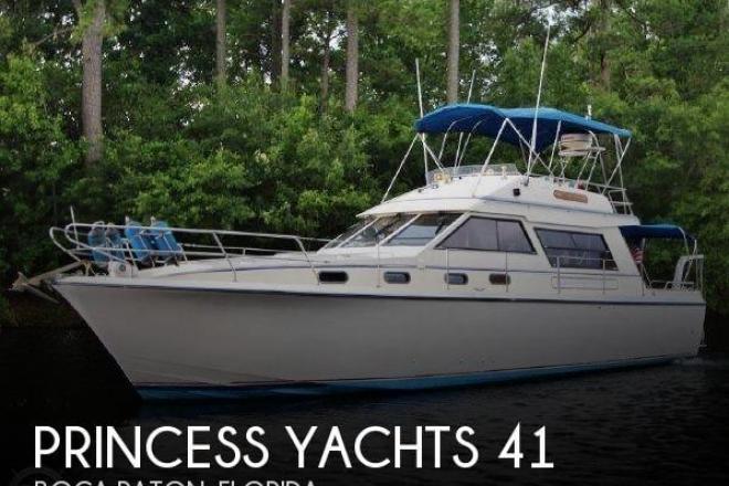 1983 Princess 412-2 - For Sale at Boca Raton, FL 33487 - ID 150034