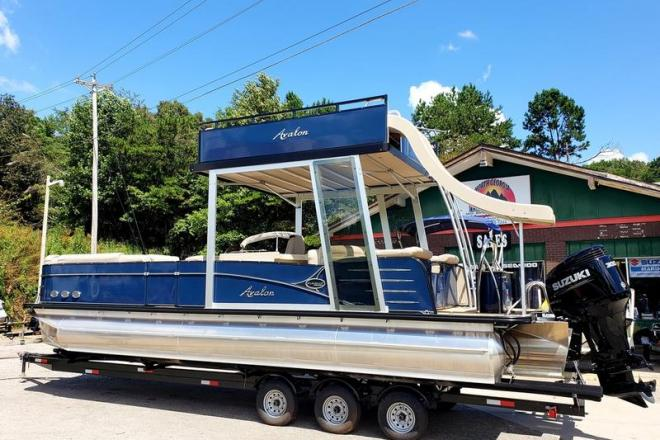 2018 Avalon Catalina Platinum Funship Entertainer 27' - For Sale at Blairsville, GA 30512 - ID 144083