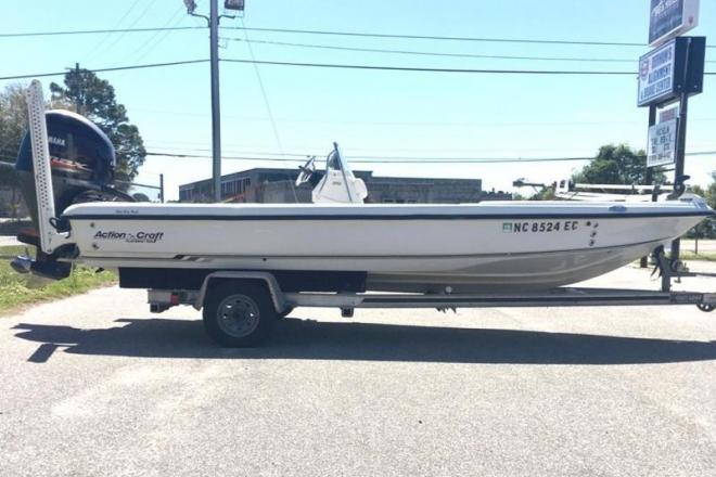 2004 Action Craft 1890 Flatsmaster - For Sale at Wilmington, NC 28409 - ID 150464