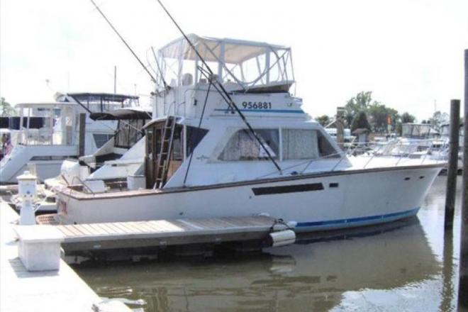 1977 Egg Harbor 40 Convertible - For Sale at Hopewell, VA 23860 - ID 150485