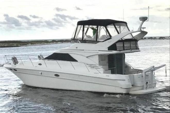 2000 Sea Ray 400 Sedan Bridge - For Sale at Ocean Springs, MS 39564 - ID 150496