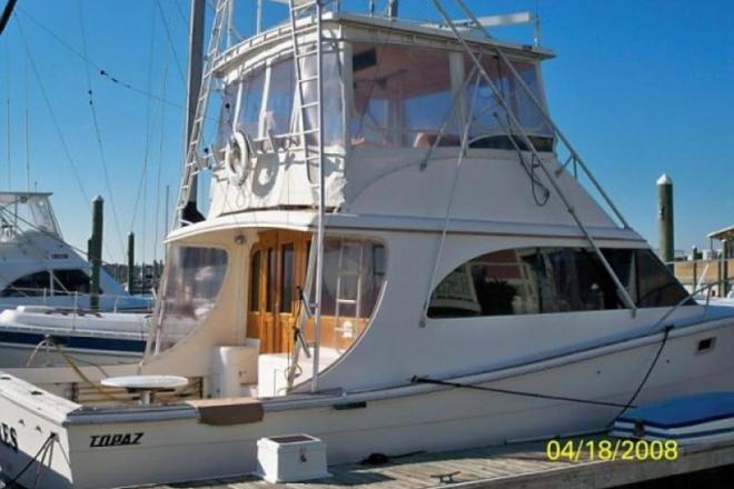 1987 Topaz 44FT Sportfisherman - For Sale at Southport, NC 28461 - ID 150541