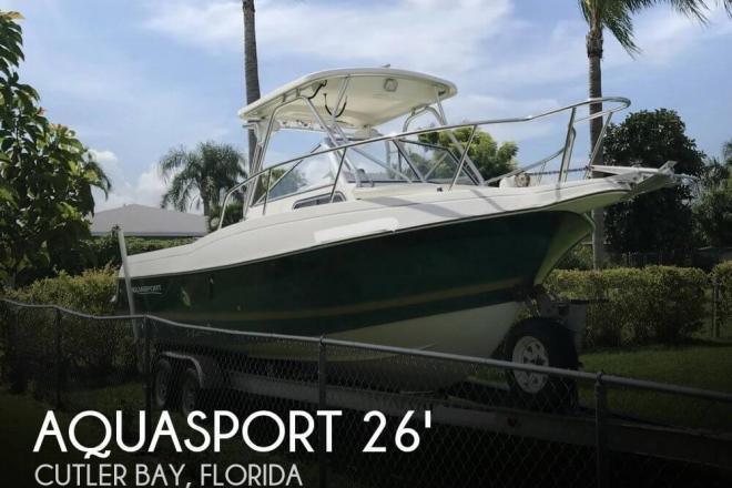 1999 Aquasport 245 Explorer - For Sale at Miami, FL 33157 - ID 149759