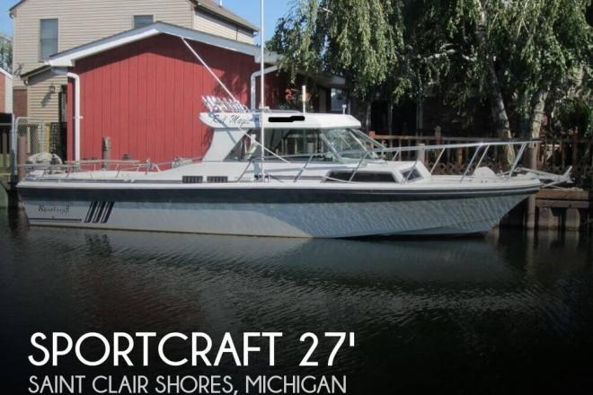 1988 Sportcraft 270 Fisherman - For Sale at Saint Clair Shores, MI 48080 - ID 149448