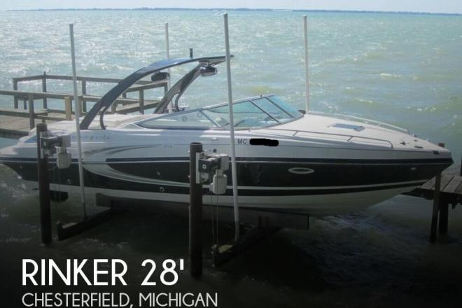 2014 Rinker Captiva 276 CC - For Sale at Chesterfield, MI 48047 - ID 149865