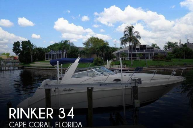 1998 Rinker FIESTA-VEE 330 - For Sale at Cape Coral, FL 33990 - ID 151058