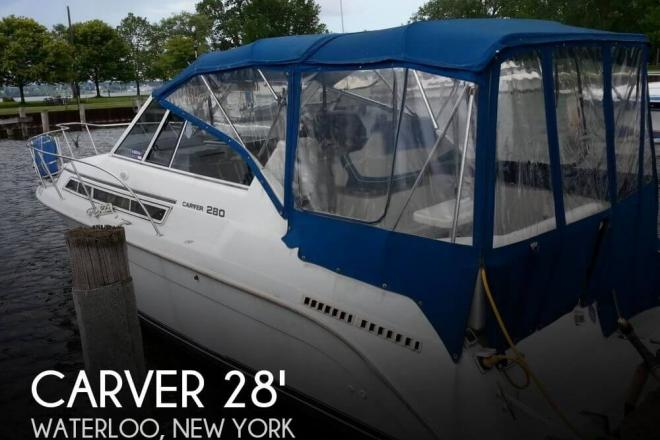 1996 Carver 280 Mid Cabin Express - For Sale at Waterloo, NY 13165 - ID 125529