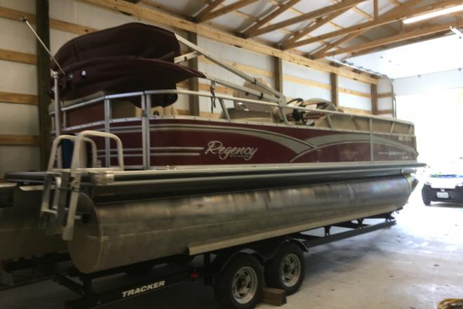 2012 Sun Tracker Regency - For Sale at Hollister, MO 65672 - ID 151190