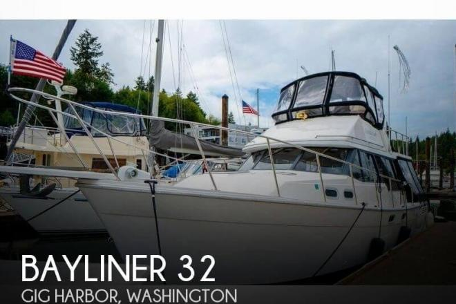 1990 Bayliner 32 - For Sale at Gig Harbor, WA 98329 - ID 151208