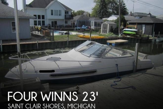 1994 Four Winns 238 Vista - For Sale at Saint Clair Shores, MI 48081 - ID 150721