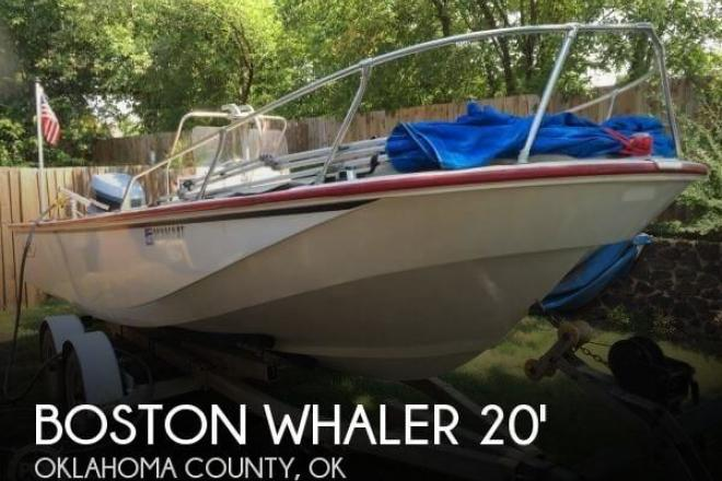 1979 Boston Whaler Outrage V-20 - For Sale at Oklahoma City, OK 73165 - ID 77921