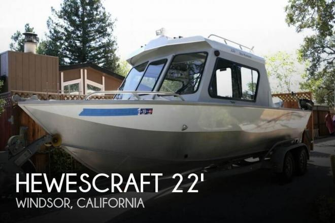 2005 Hewescraft 220 Sea Runner Pilothouse - For Sale at Windsor, CA 95492 - ID 151127
