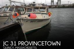1984 JC Tritoon 31 Provincetown