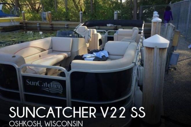2018 Suncatcher V22 SS - For Sale at Oshkosh, WI 54901 - ID 150694