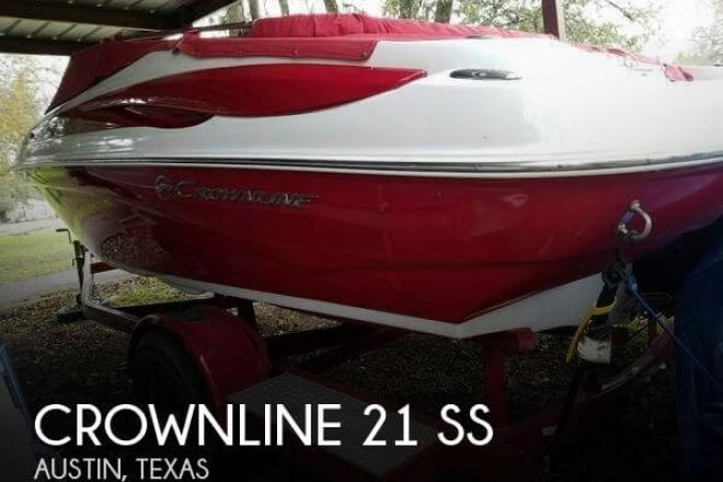 2012 Crownline 21 SS - For Sale at Spicewood, TX 78669 - ID 109897
