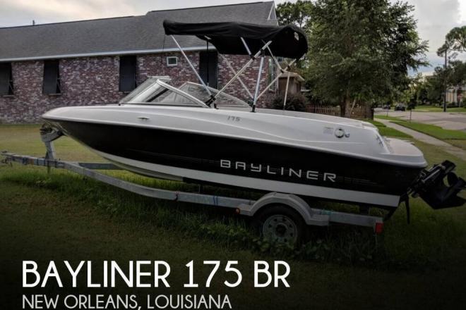 2013 Bayliner 175 BR - For Sale at New Orleans, LA 70154 - ID 151227