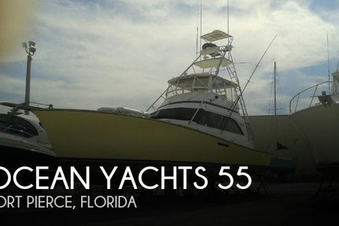1984 Ocean Yachts Super Sport 55 - For Sale at Fort Pierce, FL 34949 - ID 151991