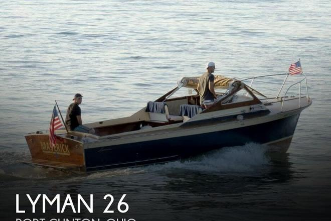 1970 Lyman 26 - For Sale at Port Clinton, OH 43452 - ID 152186