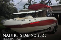 2017 Nautic Star 203 SC