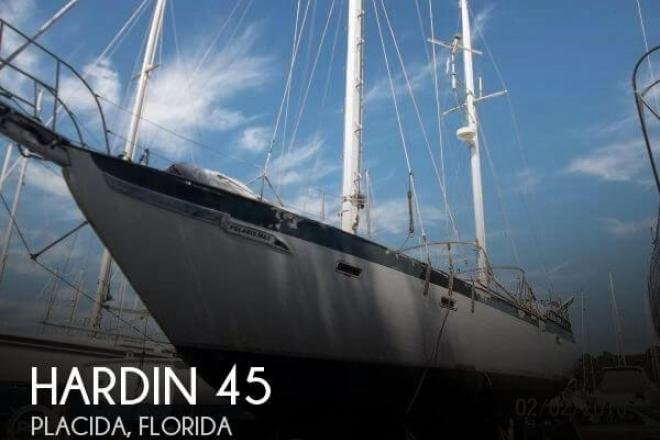 1979 Hardin 45 Ketch - For Sale at Placida, FL 33946 - ID 152781