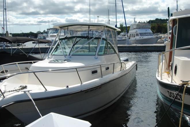 2002 Pursuit 2870 WALKAROUND - For Sale at Sturgeon Bay, WI 54235 - ID 152860