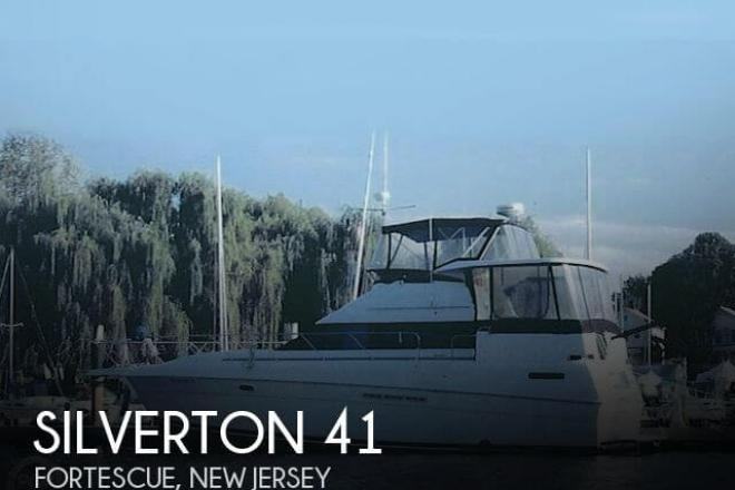 1995 Silverton 41 MY - For Sale at Fortescue, NJ 8321 - ID 152957