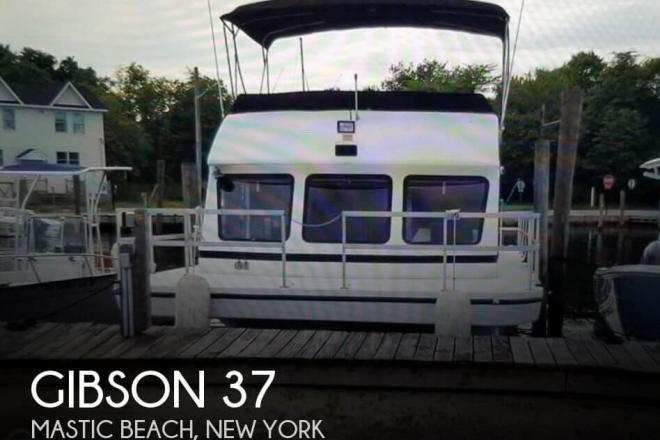 1995 Gibson 37 Sport Series - For Sale at Mastic Beach, NY 11951 - ID 153063