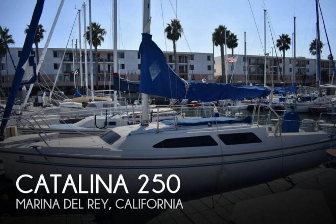 1997 Catalina 250 - For Sale at Marina del Rey, CA 90292 - ID 148830