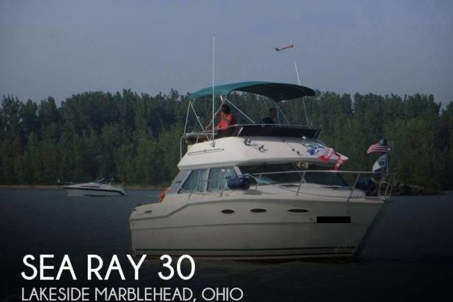 1985 Sea Ray 300 Sedan Bridge - For Sale at Lakeside Marblehead, OH 43440 - ID 153339