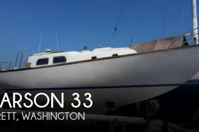 1966 Pearson Vanguard 33 - For Sale at Everett, WA 98201 - ID 153344