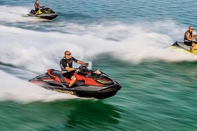 2019 Sea Doo RXP®-X® 300 Black and Lava Red - For Sale at Winchester, TN 37398 - ID 153444
