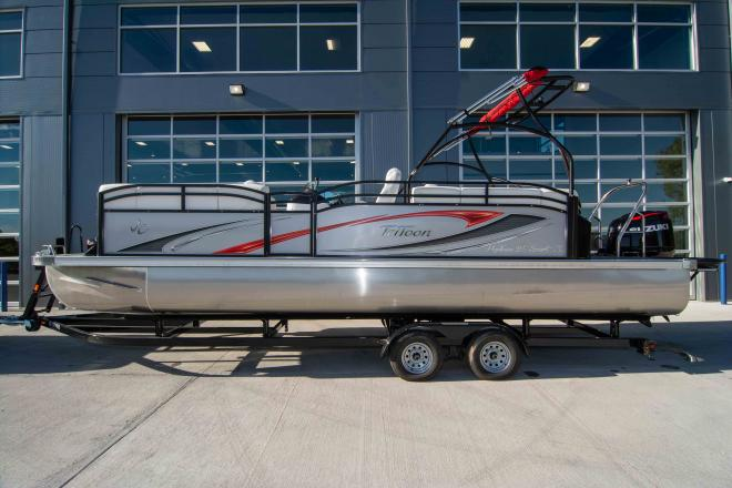 2019 JC Tritoon Sunlounger 25 TT Sport - For Sale at Osage Beach, MO 65065 - ID 153471