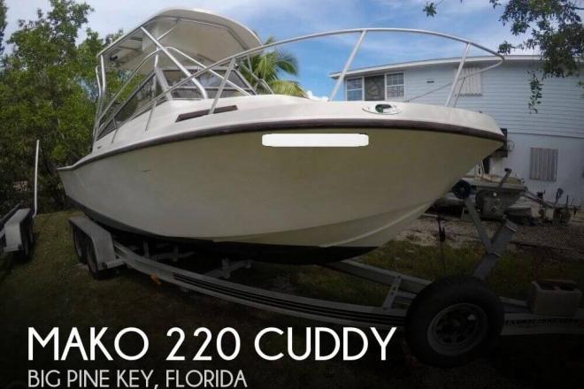 1988 Mako 220 Cuddy - For Sale at Big Pine Key, FL 33043 - ID 125657