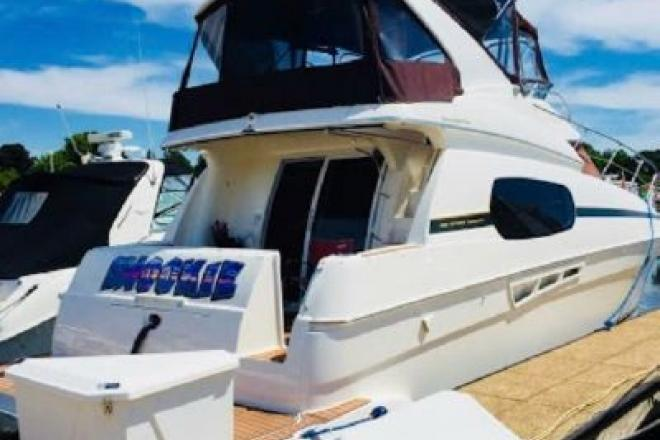 2001 Silverton 410 sport bridge - For Sale at Manistee, MI 49660 - ID 153553
