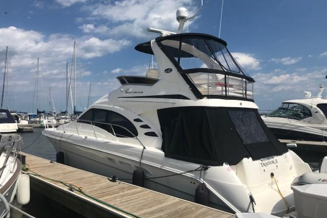 2004 Sea Ray 420 SEDANBRIDGE - For Sale at Pewaukee, WI 53072 - ID 144851